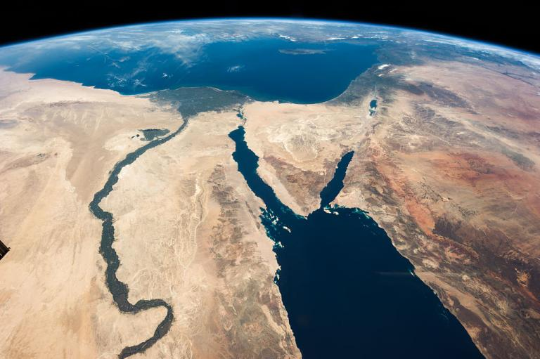 Sinai from space